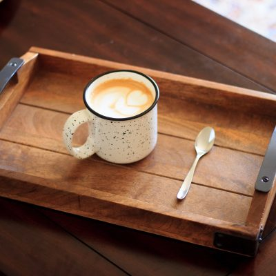 Пряный чай латте